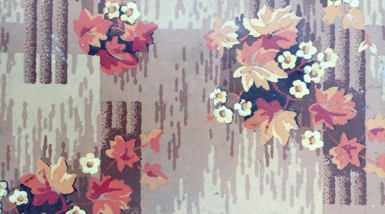 Autumnal A. Linoleum Pieces