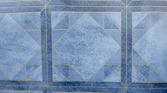 BORNFREE BLUE VINYL FLOORING