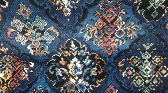 X. EVEN COWGIRLS GET THE BLUES VINTAGE UNUSED CARPET