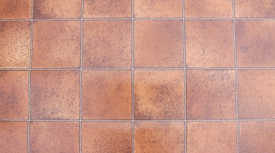 TERRACOTTA TILE VINYL FLOORING