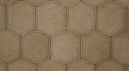 HONEYCOMB PALE VINYL FLOORING