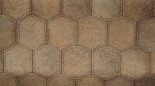 HONEYCOMB VINYL FLOORING