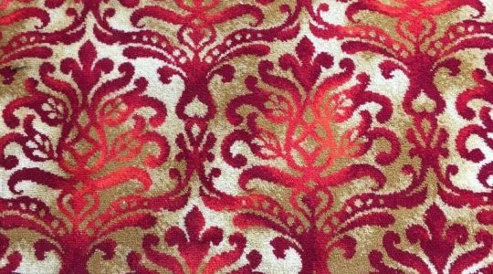 RIGHT ROYAL RED VINTAGE CARPET