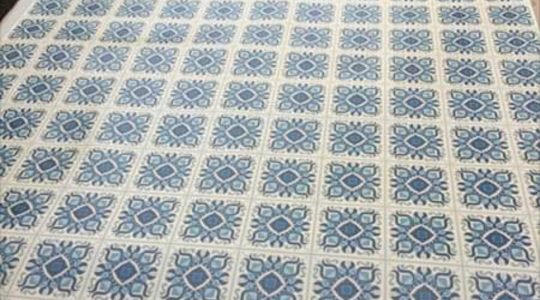 A BLUE DREAM VINYL FLOORING