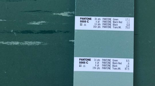 Great Green Vinyl Tile